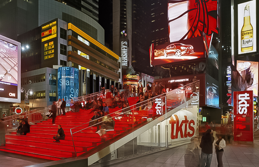 TKTS Booth - Times Square