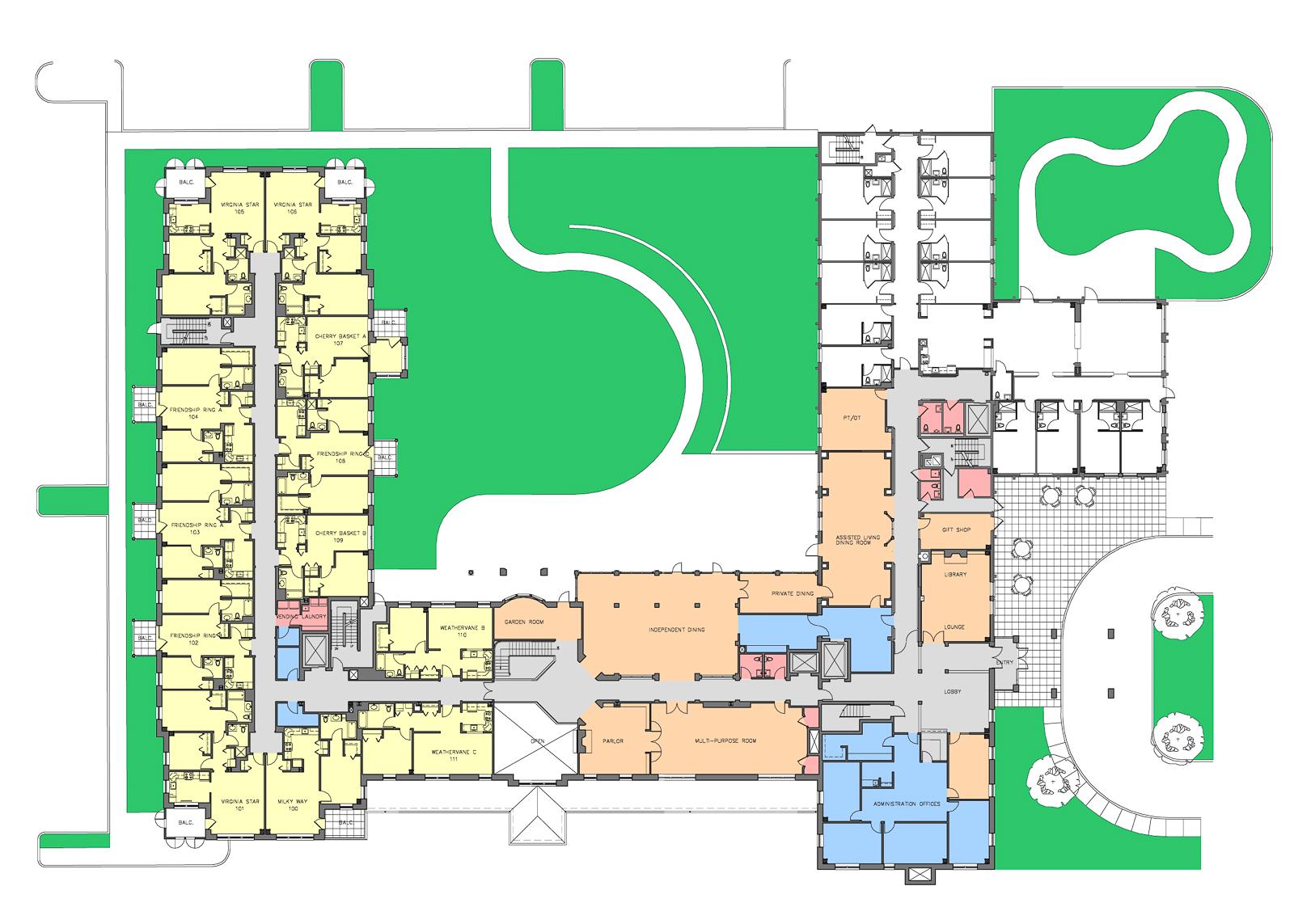 00040 Shenango First Floor Rendered