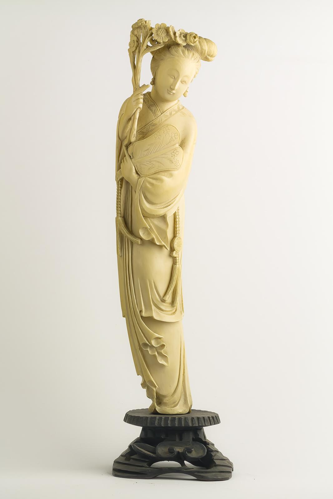 Ivory Lady Fan-1