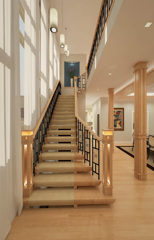 1431 Weinberger Stair Tan-Scene 17