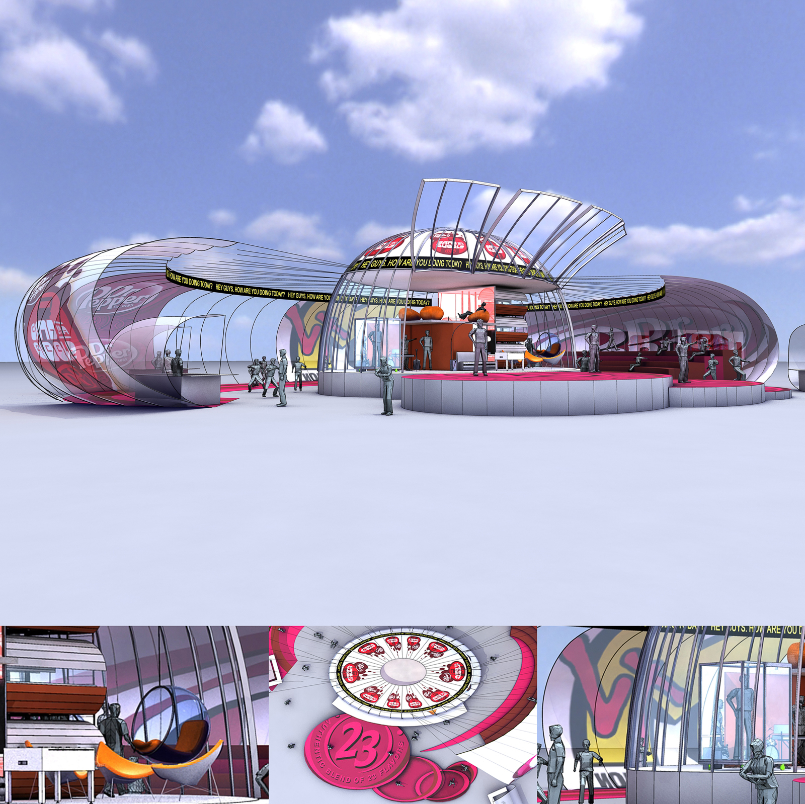 Dr Pepper - Dome - I-Event View
